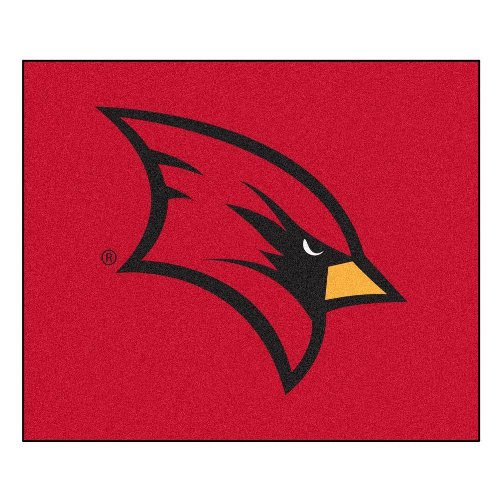 Fanmats Ncaa Saginaw Valley State University Red 5 Ft X 6