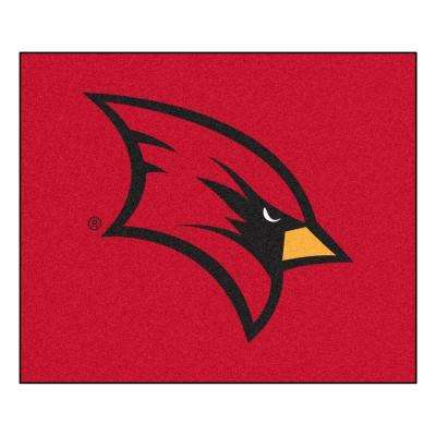 NCAA Saginaw Valley State University Red 5 ft. x 6 ft. Area Rug