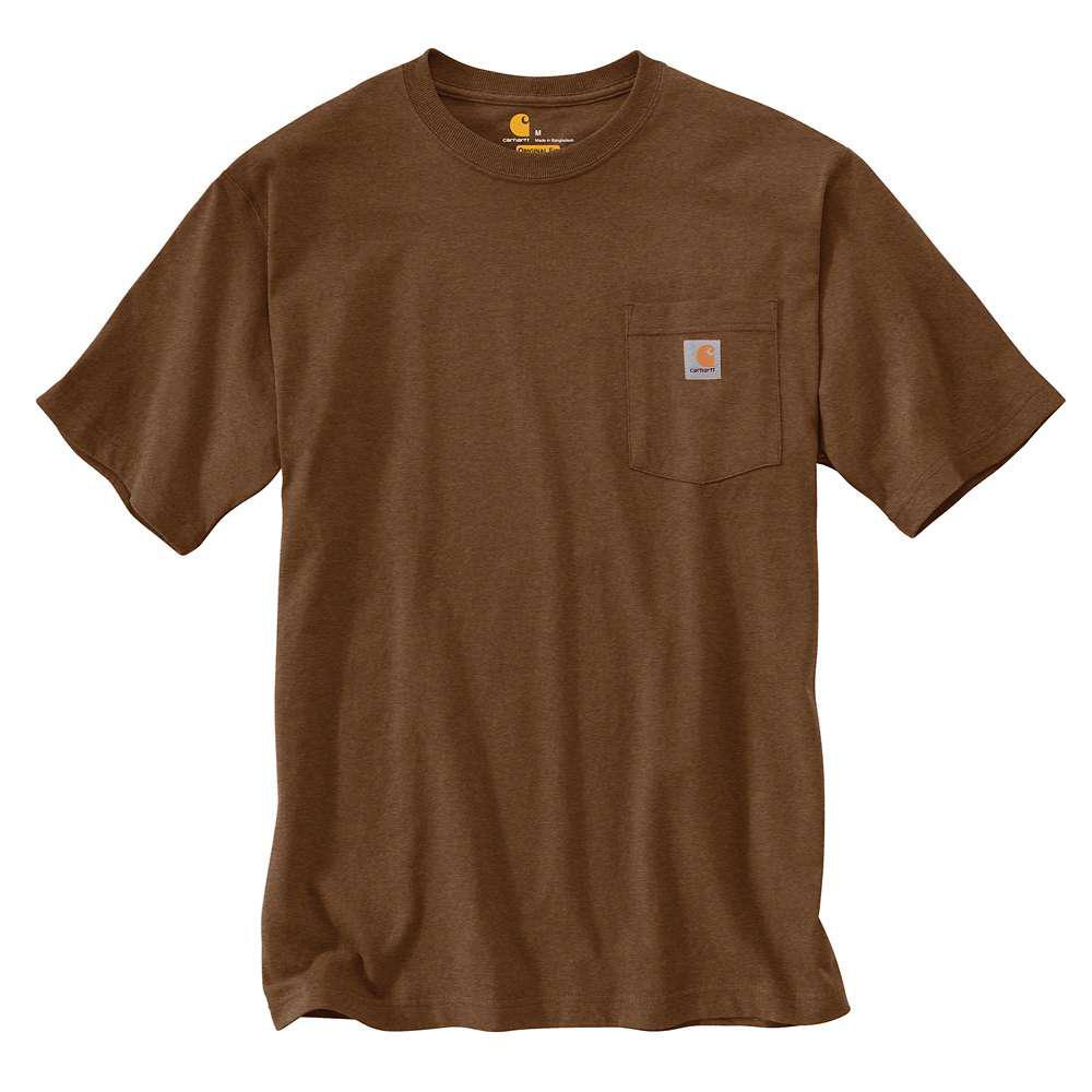 Men's Regular Small Barrel Heather Cotton/Polyester Short-Sleeve T-Shirt