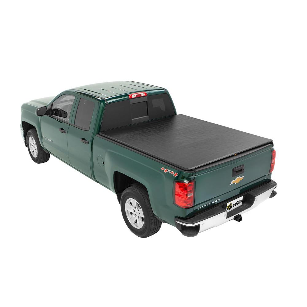 Bestop Ziprail Soft Tonneau For 1988 2007 Silverado Sierra Classic For 6 5 Ft Bed 18205 01 The Home Depot
