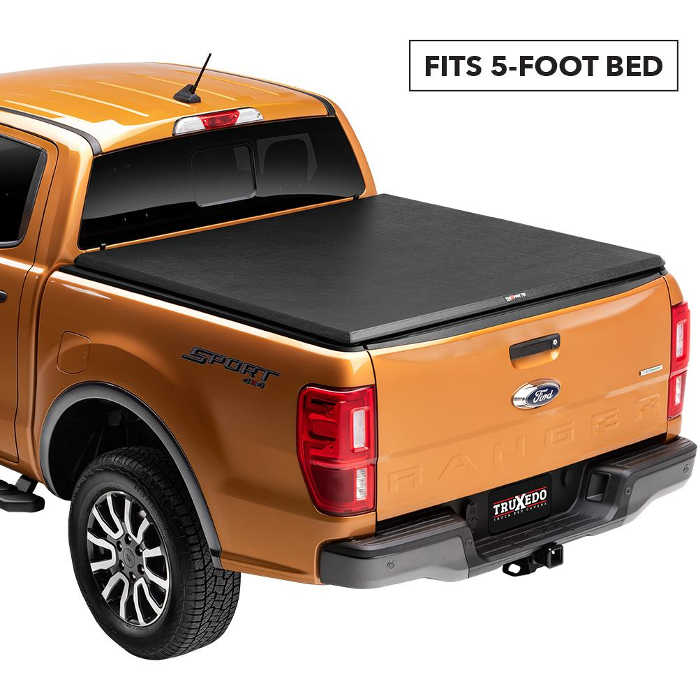 Truxedo Truxport 06 08 Mitsubishi Raider Double Cab 5 Ft Bed Tonneau Cover 290101 The Home Depot