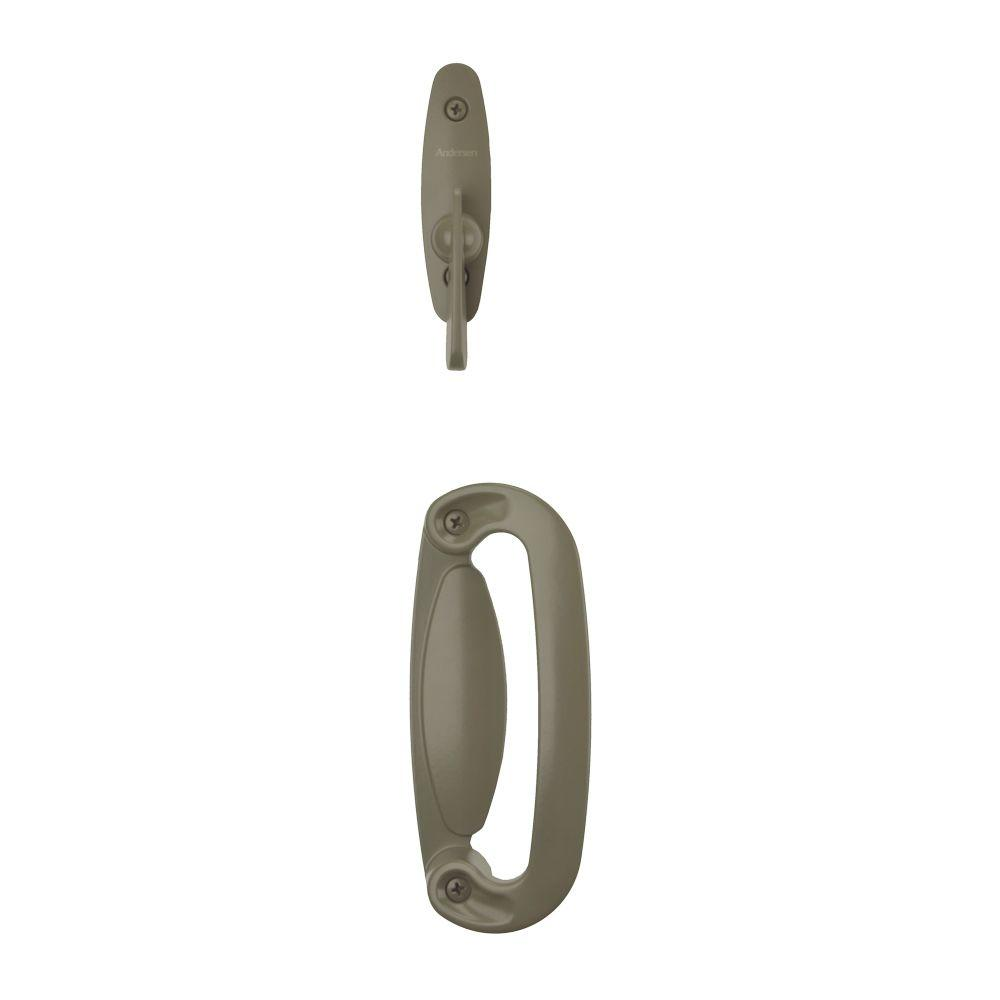 Andersen Tribeca 2 Panel Gliding Patio Door Hardware Set In Stone