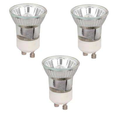 35-watt Halogen MR11 Clear Lens GU10 Base Narrow Flood Light Bulb (3-Pack)