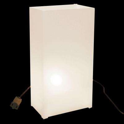White Electric Luminaria Kit (Set of 10)