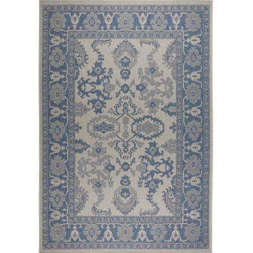 Patio Country Gray/Blue 5 ft. 2 in. x 7 ft. 2 in. Indoor/Outdoor Area Rug