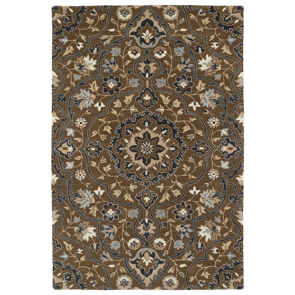 Kaleen Middleton Chocolate 2 Ft. X 3 Ft. Area Rug-MID06-40