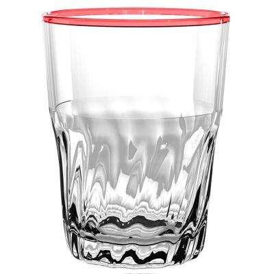 Cantina Red DOF Glass (Set of 6)