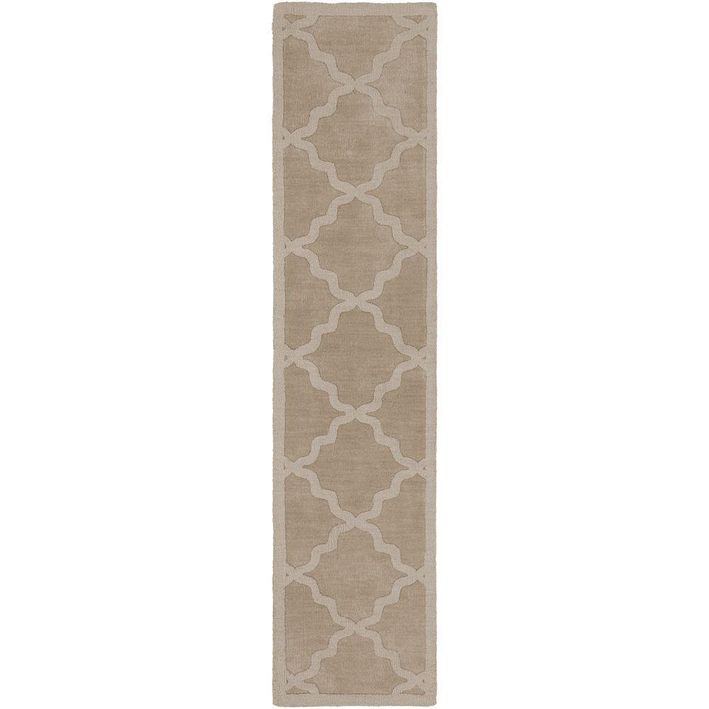 Central Park Abbey Beige 2 ft. 3 in. x 10 ft.