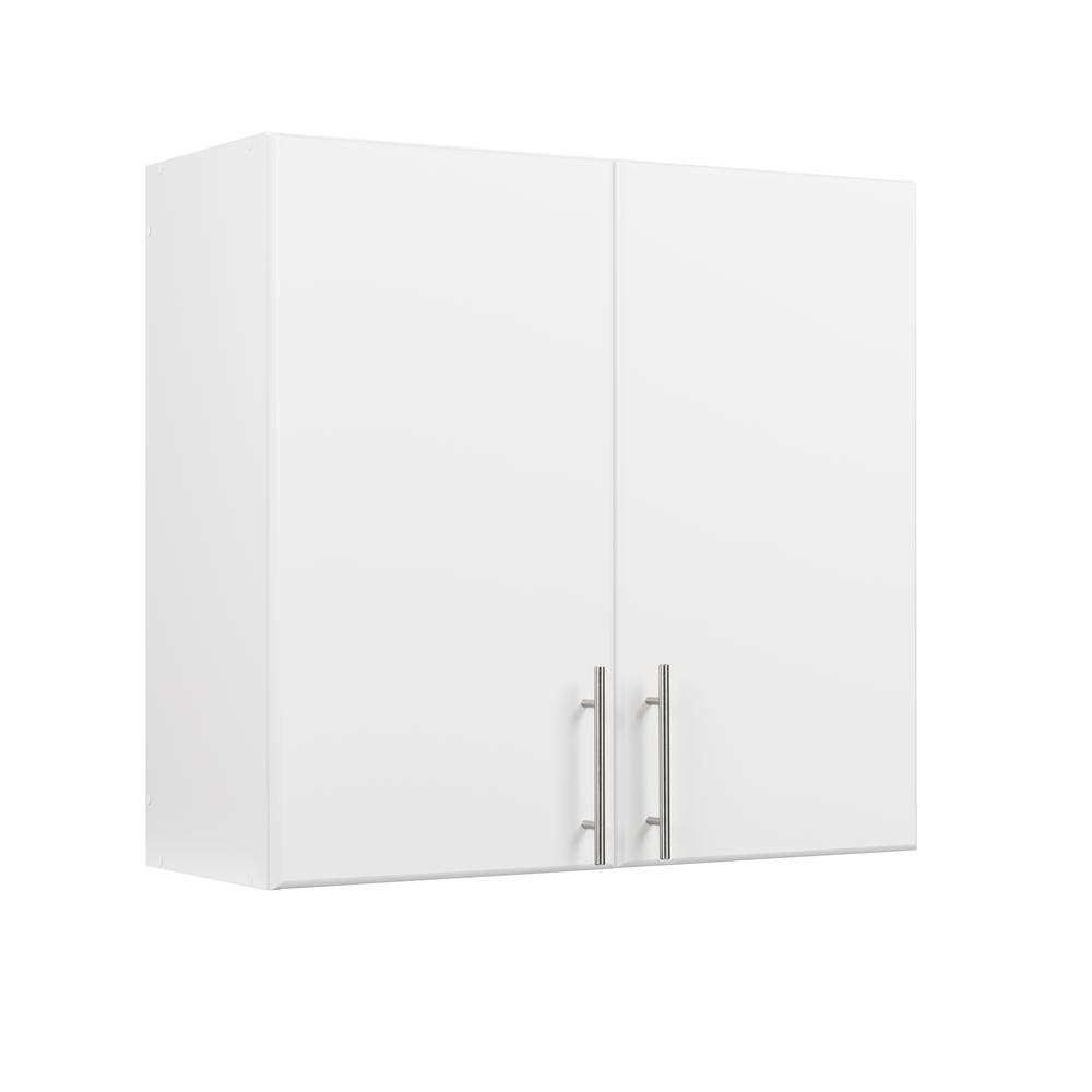 Prepac Elite 30 In H X 32 W 12 D Tall Wall Cabinet White