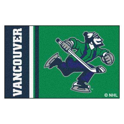 NHL - Vancouver Canucks Green 2 ft. x 3 ft. Indoor Area Rug
