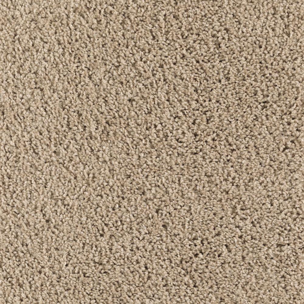 Ashcraft II - Color Sugar Cookie Texture 12 ft. Carpet