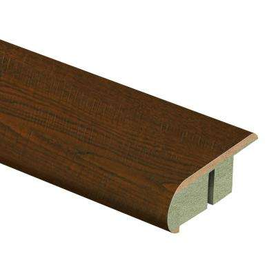Auburn Scraped Oak 3/4 in. Thick x 2-1/8 in. Wide x 94 in. Length Laminate Stair Nose Molding