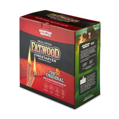 Fatwood 10 lbs. Natural Wood Firestarter