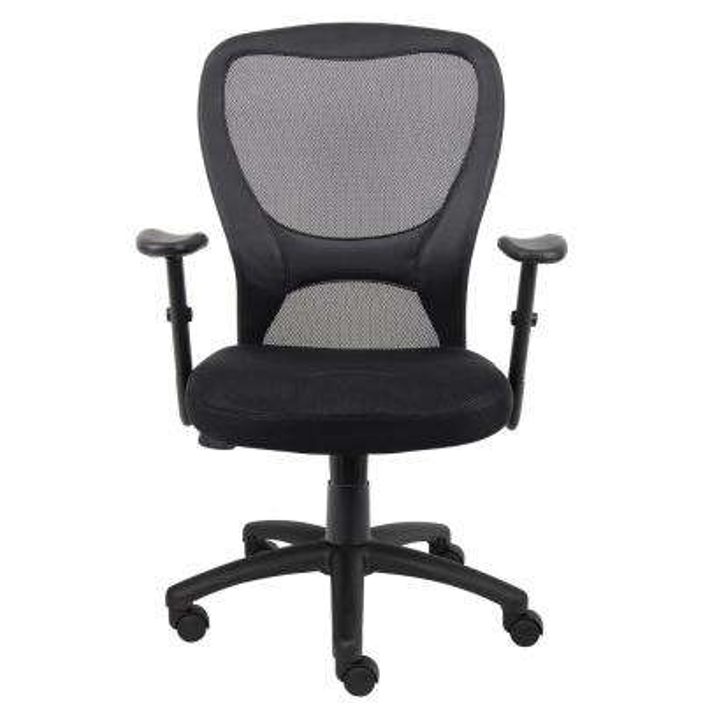 Black Modern Styled Mesh Desk Chair
