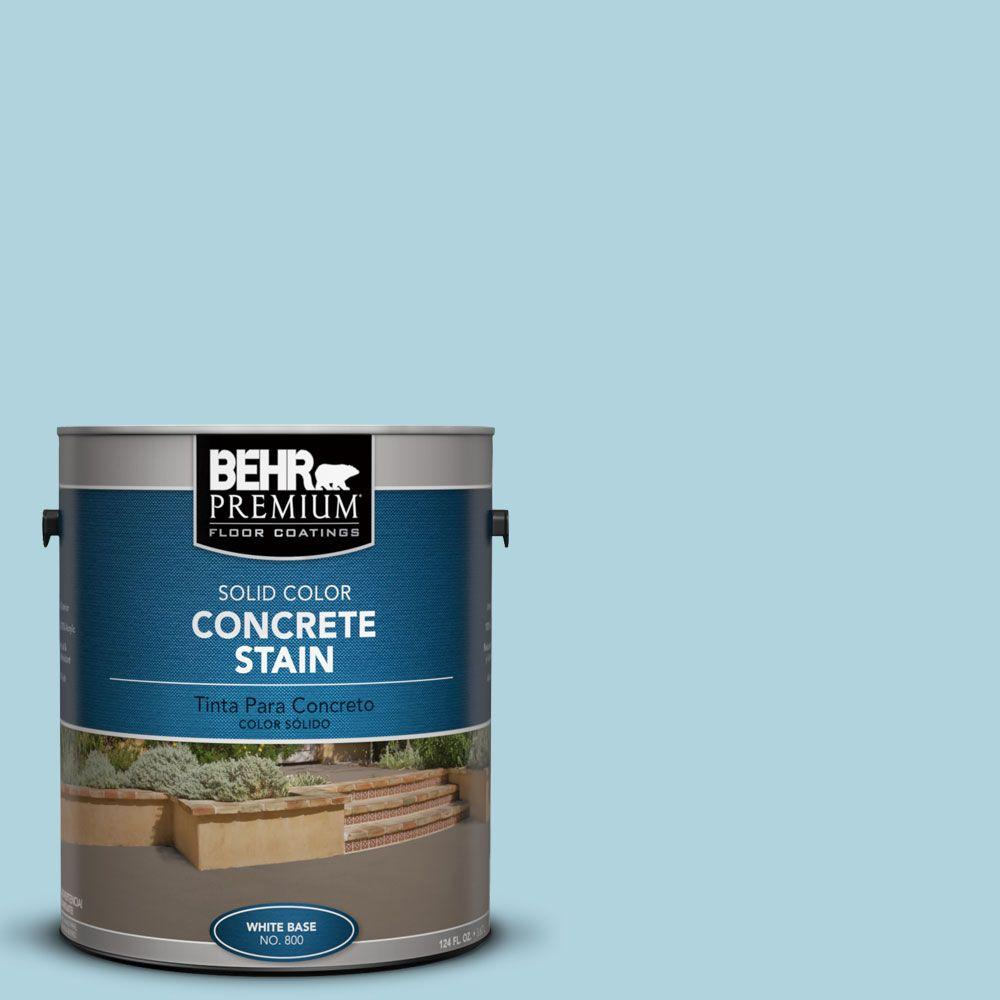 1 gal. #PFC-56 Pools of Blue Solid Color Interior/Exterior Concrete Stain