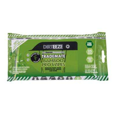 Bamboo Trademate Pro Wipes Flow Pack (25-Count)
