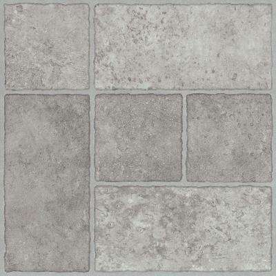 Bodden Bay 12 in. x 12 in. Grey Peel and Stick Vinyl Tile (30 sq. ft. / case)