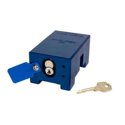 Hidden Shackle Container Door Lock with Pac-Band