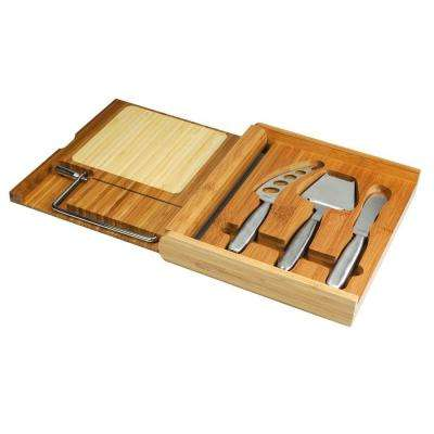 Soiree Folding Cheese Board and Tools Set