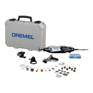4000 Series 1.6 Amp Variable Speed Corded Rotary Tool Kit with 34 Accessories, 3 Attachments