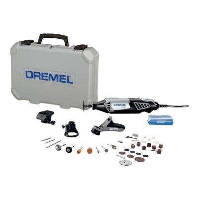 4000 Series 1.6 Amp Variable Speed Corded Rotary Tool Kit with 34 Accessories, 3 Attachments  and Carrying Case