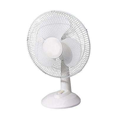 9 in. Energy Efficient Oscillating Quiet Speed Desk Fan Adjustable Air Circulator