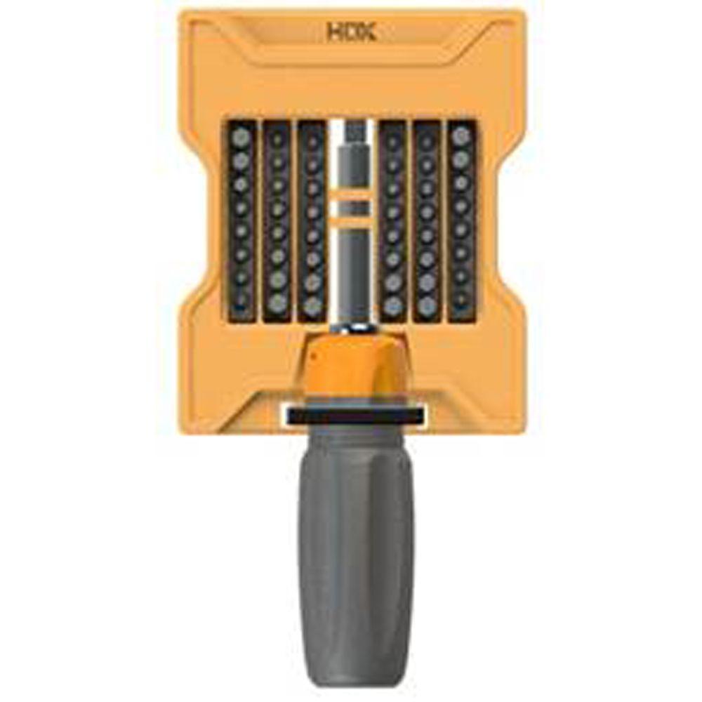 HDX Ratcheting Screwdriver Set (49-Piece)