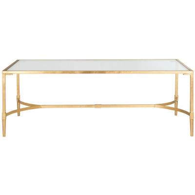 Antwan Gold/Clear Coffee Table