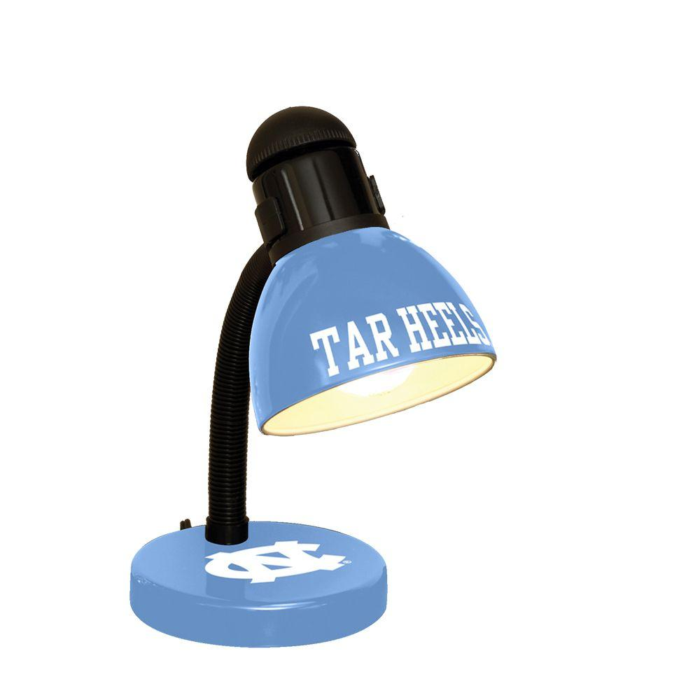 The Memory Company 14.7 in. NCAA Desk Lamp - North Carolina Tar Heels-DISCONTINUED