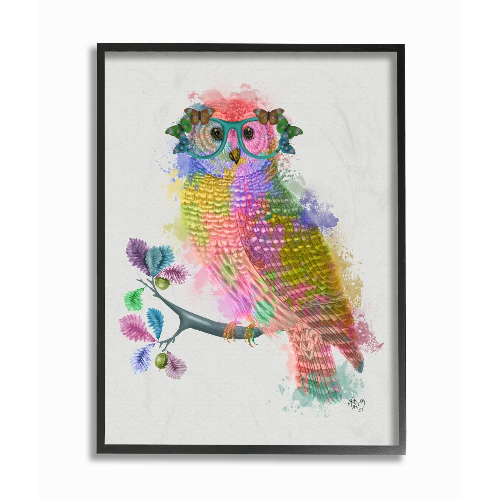 The Stupell Home Decor Collection 16 In X 20 In Rainbow Splash