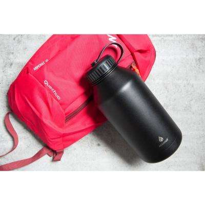 Ranger 64 oz. Black Powder Coated Stainless Steel Vacuum Growler