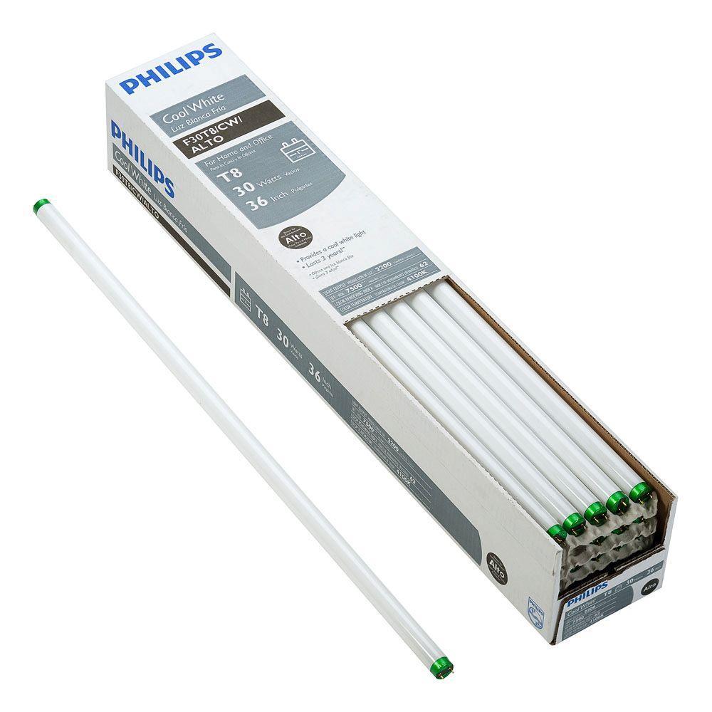 Philips 30-Watt Cool White Linear Fluorescent ALTO Light Bulb