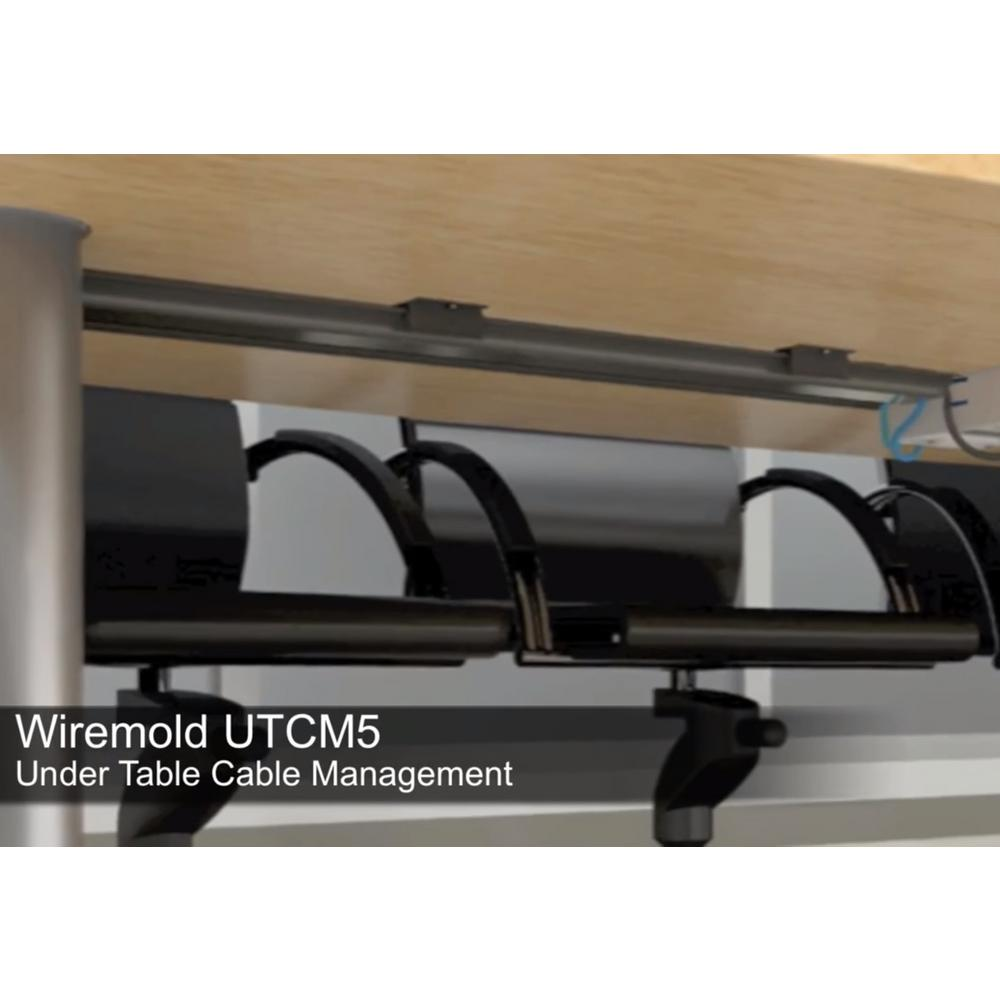Legrand Wiremold Integreat 5 Ft Under Table Cord Management