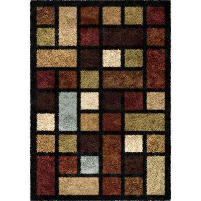 Color Grid Multi 5 ft. x 8 ft. Indoor Area Rug