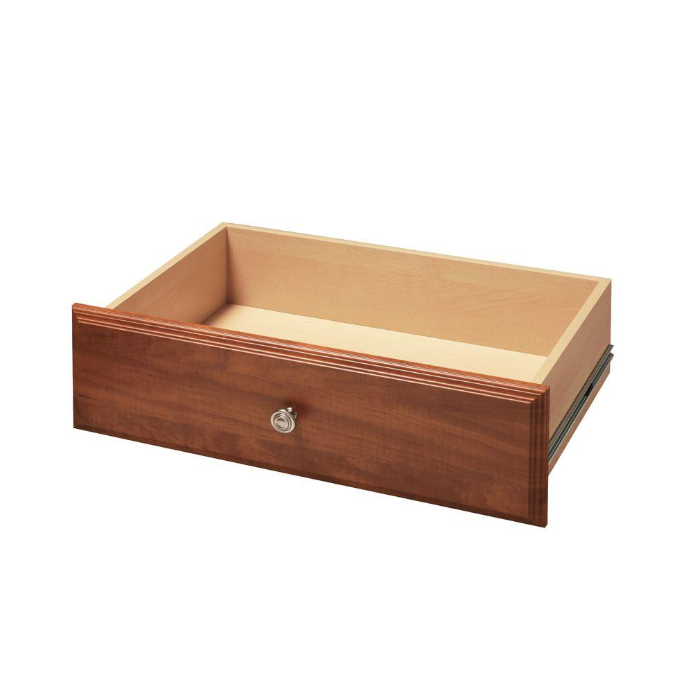 Martha Stewart Living 8 in. x 24 in. Wild Cherry Deluxe Drawer Kit