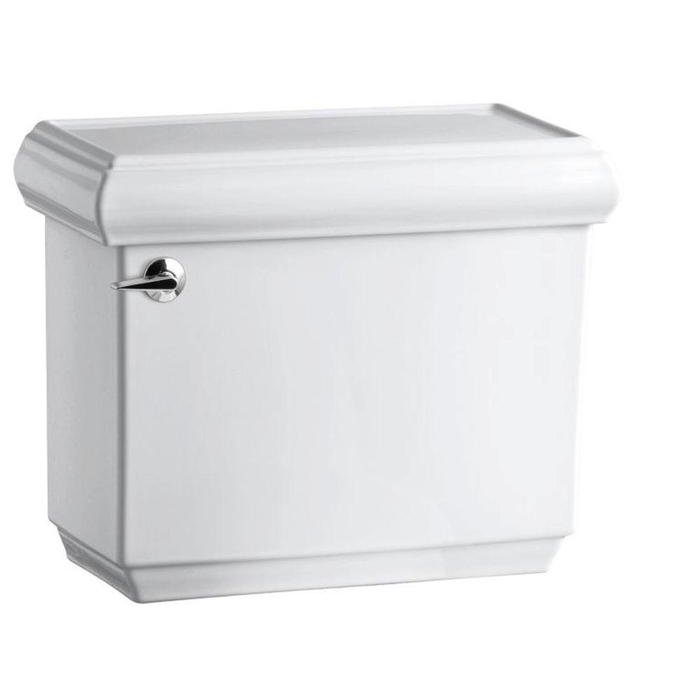 Memoirs 1.28 GPF Single Flush Toilet Tank Only with AquaPiston Flushing Technology in White