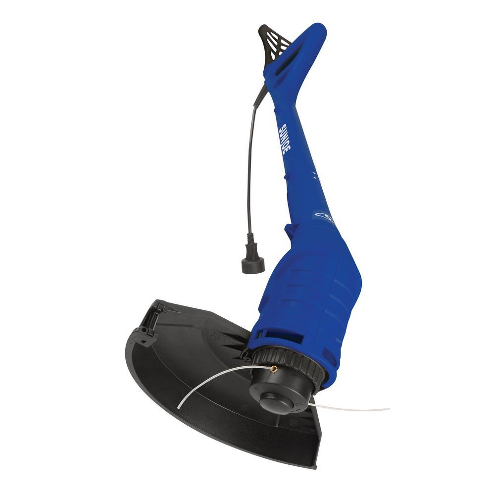 Sun Joe 10 inch 2.5 Amp Electric String Trimmer in Blue by Sun Joe