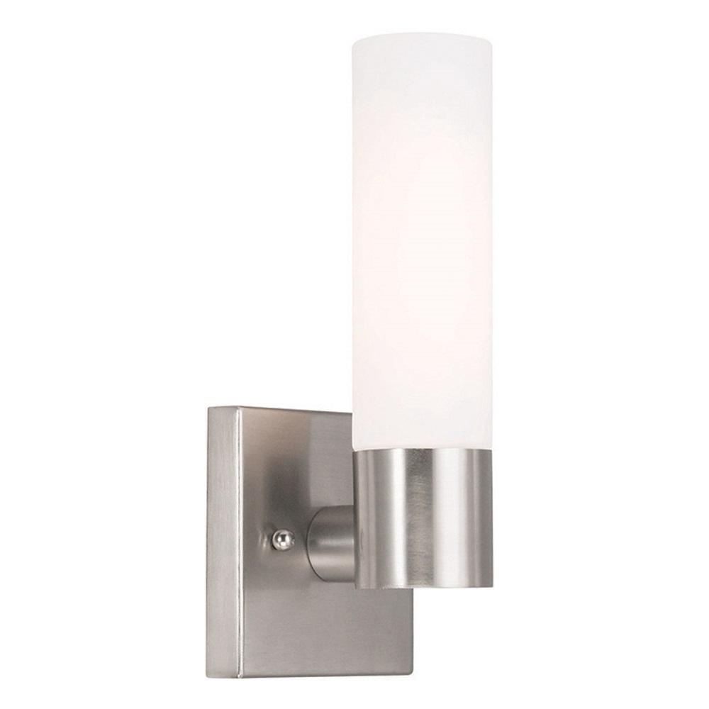 Aero 1-Light Brushed Nickel Sconce