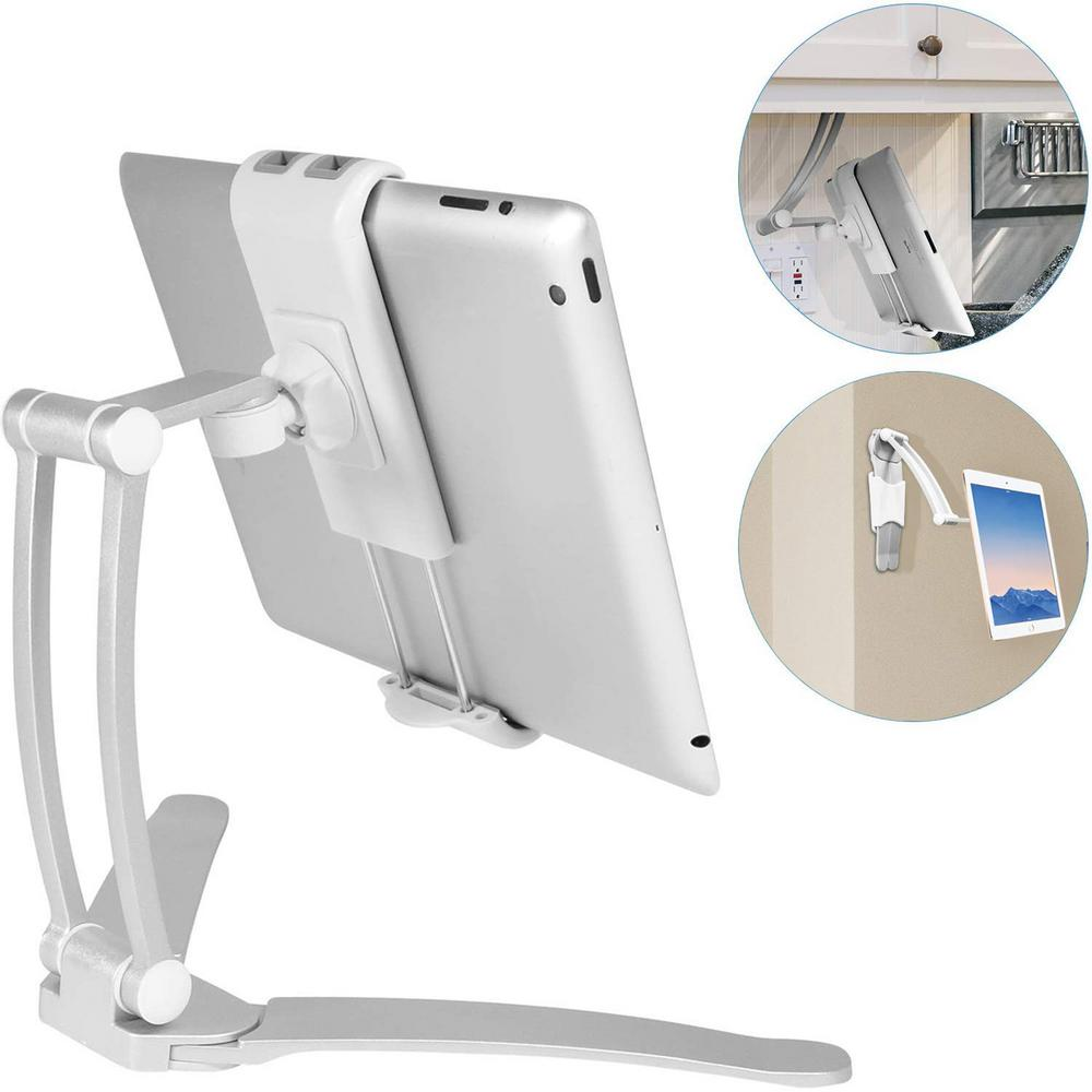 Macally Wall Mount and Countertop Stand for Smartphone and tablet on kitchen tablet mount, kitchen tablet stand, kitchen laptop holder, kitchen tablet case, kitchen tablet recipe,