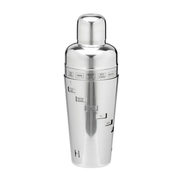 Kraftware 32 oz. Cocktail Shaker in Polished Stainless Steel 70321