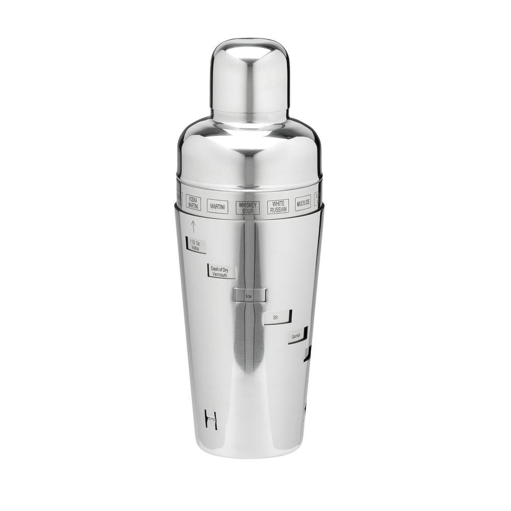 Kraftware 32 oz. Cocktail Shaker in Polished Stainless Steel