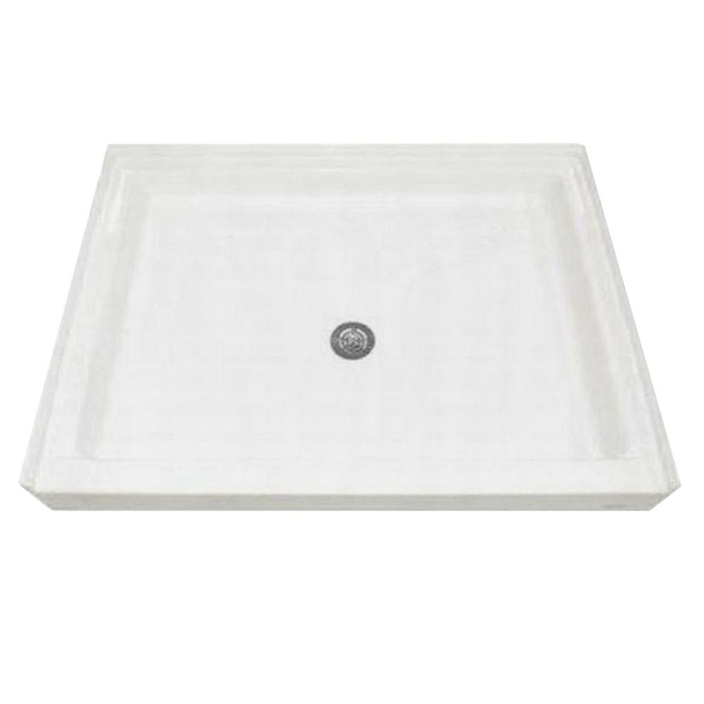 American Standard 48-1/8 in. x 34-1/4 in. Single Threshold Shower Base in White