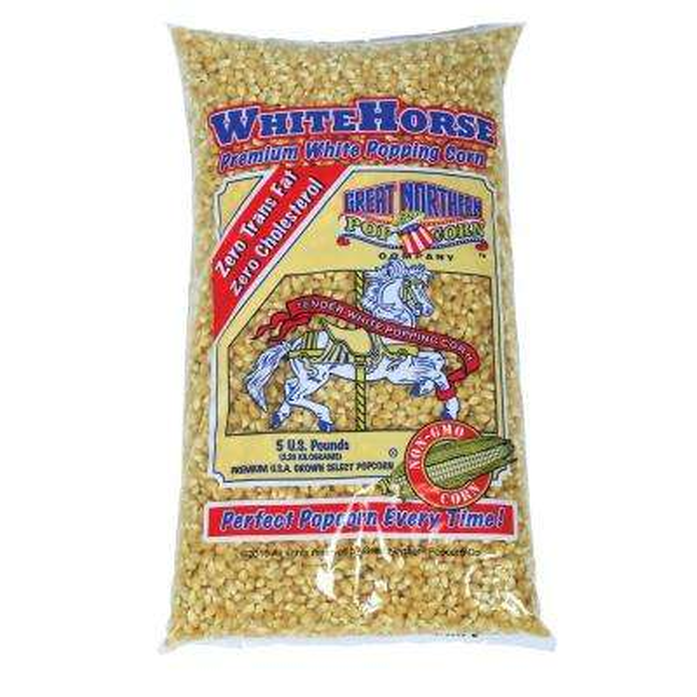 5 lb. Premium White Gourmet Popping Popcorn