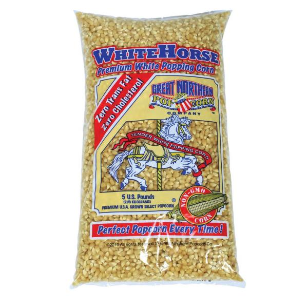 Great Northern 5 lb. Premium White Gourmet Popping Popcorn HWD630196