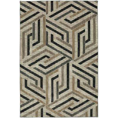 Aster Onyx 5 ft. x 8 ft. Area Rug