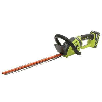 24 in. 24-Volt Lithium-Ion Cordless Hedge Trimmer - 1.5 Ah Battery and Charger Included