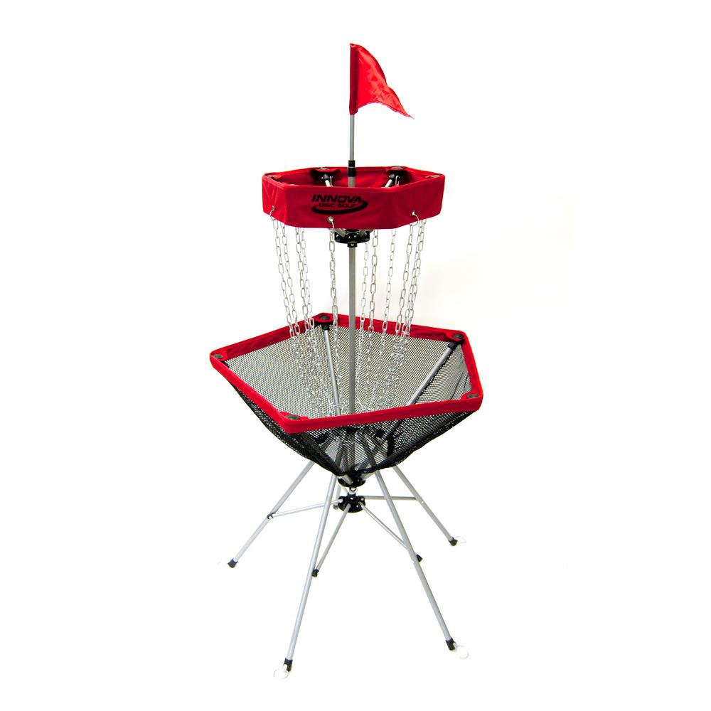 Portable Lightweight Disc Golf Target with Tote Bag