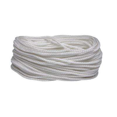 3/16 in. x 50 ft. White Diamond Braid Nylon Rope