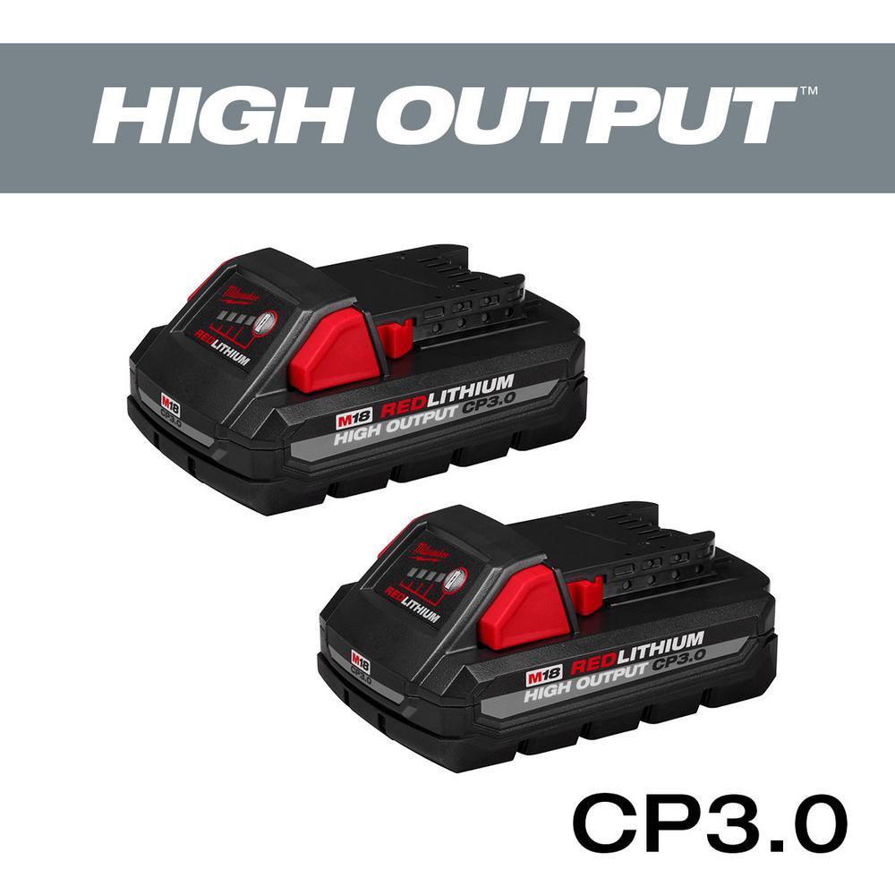 Deals on 2-Pack Milwaukee M18 18V Li-Ion HIGH CP 3.0Ah Battery