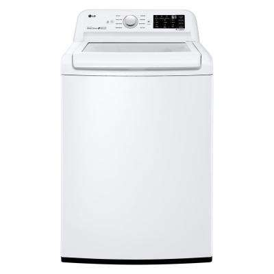 4 5 cu  ft  Mega Capacity Top Load Washer in White